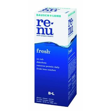 Bausch & Lomb ReNu MultiPlus Multi-Purpose Solution, No-Rub Formula, 12-Ounce Bottles (Pack of 3)
