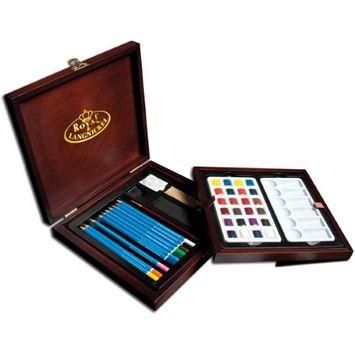Royal & Langnickel Premier Box Set-Watercolor Pencil