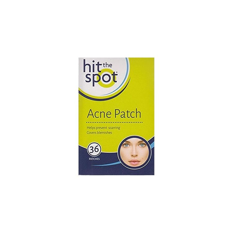 Hit The Spot Acne Patch Covers & Protects Blemishes & Facial Spots - 36 Patches.