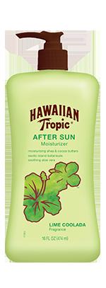 Hawaiian Tropic Lime Coolada After Sun Moisturizer