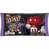 M&M'S Ghoul's Mix Peanut Chocolate Halloween Candy, 10-Ounce Bag