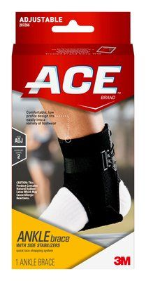 ACE™ Brand Ankle Brace with Side Stabilizers