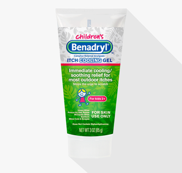 Children's BENADRYL® Itch Cooling Gel