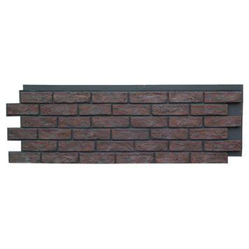 Brick Antique  Faux Stone Siding Panel