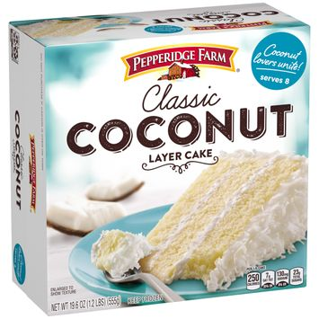 Pepperidge Farm® Frozen Coconut Layer Cake, 19.6 oz. Box