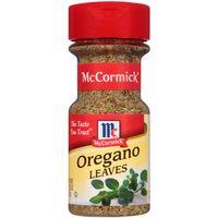 McCormick Oregano Leaves, 3.12 Oz
