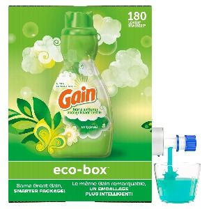 Gain Eco-box Liquid Fabric Softener, Original Scent