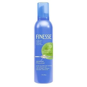 Finesse Self Adjusting Volumizing Mousse 7 oz. (Pack of 6) by Finesse