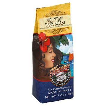 Hawaii Coffee Roasters Co. Mountain Dark Roast All Purpose Grind Coffee - 7oz