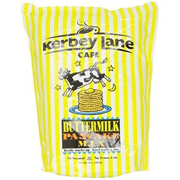Kerbey Lane Cafe Pancake Mix, Buttermilk, 4 Pound