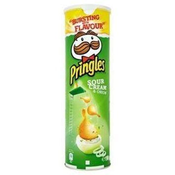 Pringles Sour Cream & Onion 190G X Case Of 6