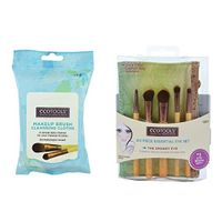 EcoTools Essential Eye Set and Brush Cleansing Cloths Bundle