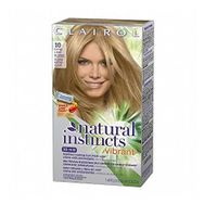 Clairol Natural Instincts Permanent Haircolor Vibrant # 10 Extra Light Blonde + FREE Assorted Purse Kit/Cosmetic Bag Bonus Gift