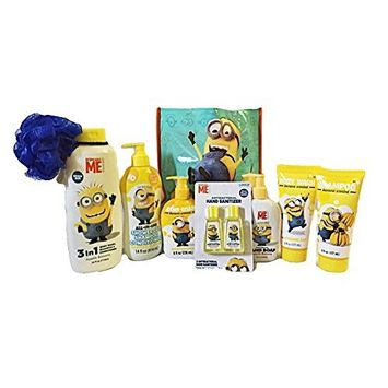 Disney Despicable Me Minion 8 Piece Bath and Body Set