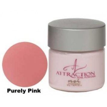 NSI Attraction Nail Powder - Purely Pink - 1.42oz / 40g by NSI