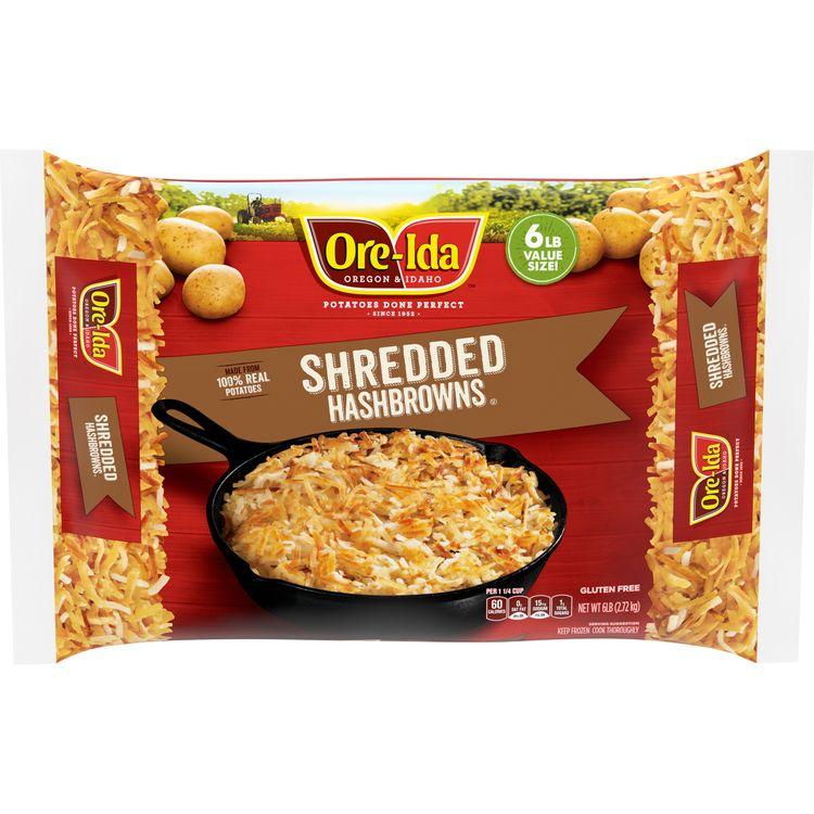 Ore-Ida Shredded Hash Brown Potatoes