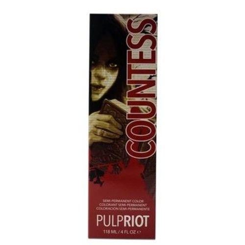 PULP RIOT SEMI PERMANENT HAIR COLOR COUNTESS - 4oz (Raven Collection)