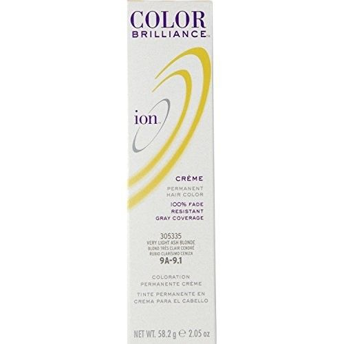 Ion 9A Very Light Ash Blonde Permanent Creme Hair Color 9A Very Light Ash Blonde