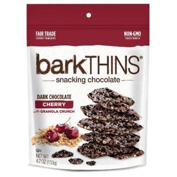 barkTHINS Snacking Chocolate Dark Chocolate Cherry with Granola Crunch - 4.7oz