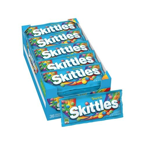 SKITTLES Tropical Candy (2.17 oz., 36 ct.,) - Flavor of your choice
