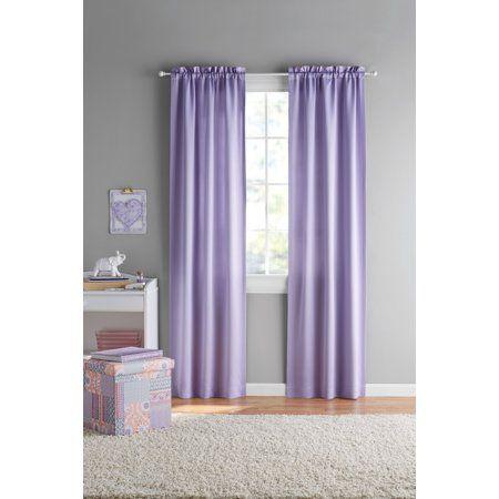 Your Zone Room Darkening Juvi Curtain Panel Pairs