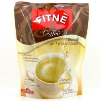 Fitne Instant Diet Coffee Plus Collagen Vitamin C Weight Loss (Pack of 10 Sachets)