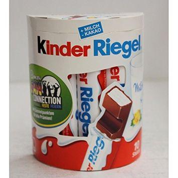 Kinder Riegel - 10 Chocolate Sticks with Milk Filling 210g / 7.4 oz