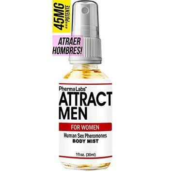 PhermaLabs Feromonas Body Mist - Body Spray Para Mujer- 1.0 oz- Atraer Hombres instantáneamente- Mayor Concentración De Feromonas Posible- Aumenta El libido- y Aroma fresco de larga duración 45mg