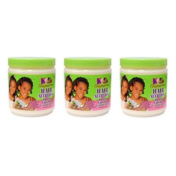(PACK OF 3) AFRICA'S BEST KIDS ORGANICS HAIR NUTRITION ENRICHED CONDITIONER 15oz : Beauty