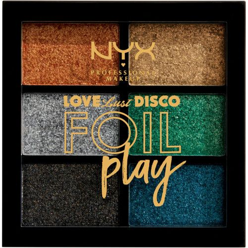 NYX Professional Makeup Love Lust Disco Foil Play Cream Palette