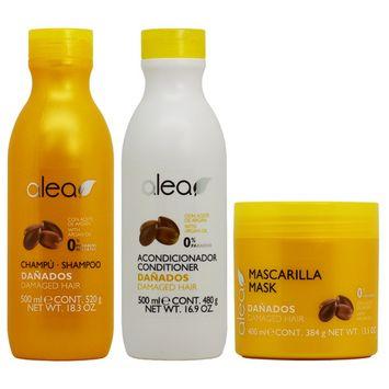 Alea Damaged Hair with Argan Oil Shampoo + Conditioner + Mask