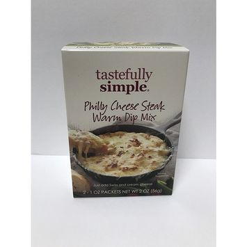 Tastefully Simple Philly Cheese Steak Warm Dip Mix