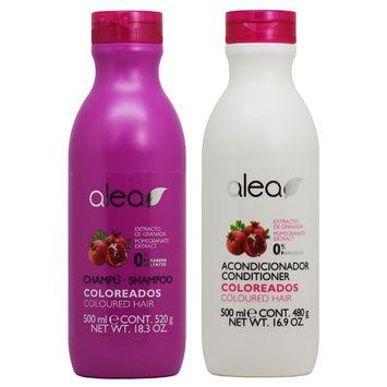 Alea Coloreados Coloured Hair Pomegranate Extract Shampoo + Conditioner