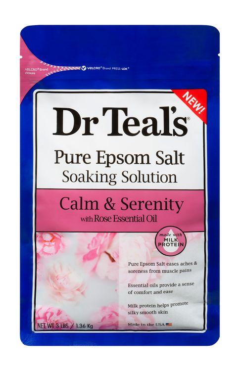 Dr Teals Milk and Rose Epsom Salt Soaking Solution 3lbs