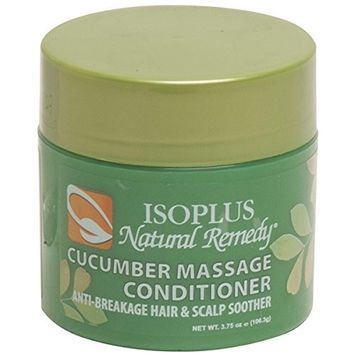 ISOPLUS NATURAL REMEDY CUCUMBER MASSAGE CONDITIONER 3.75OZ