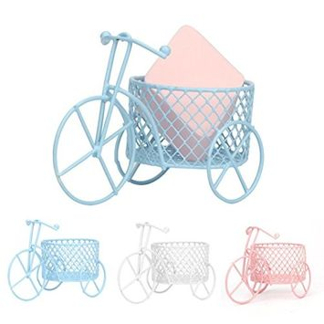 Voberry Makeup Beauty Stencil Egg Powder Puff Sponge Bicycle Shape Display Stand Drying Holder Rack