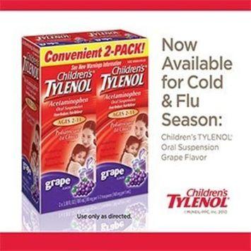 Children's Tylenol 2-pack, Grape