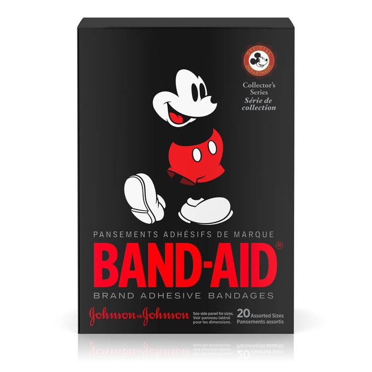 BAND-AID® Brand Adhesive Bandages, featuring Disney Mickey, 20 Count