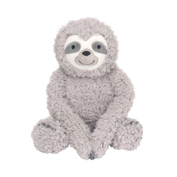 Lambs & Ivy Sloth Plush Gray Stuffed Animal Toy - Speedy