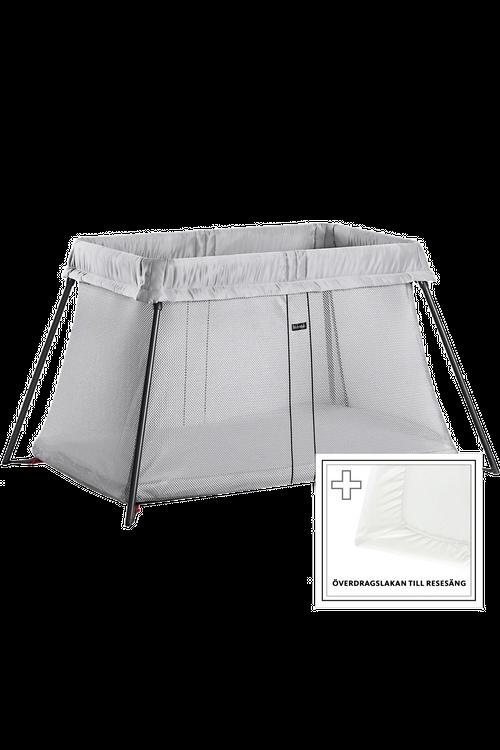 BABYBJORN Silver Travel Crib Light