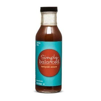 Teriyaki Sauce Gluten Free 12oz - Simply Balanced™