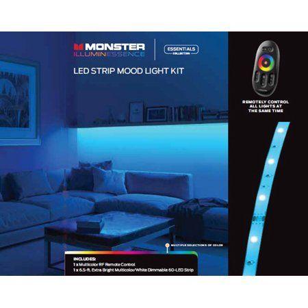 Monster Illuminessence LED Strip Mood Light Kit