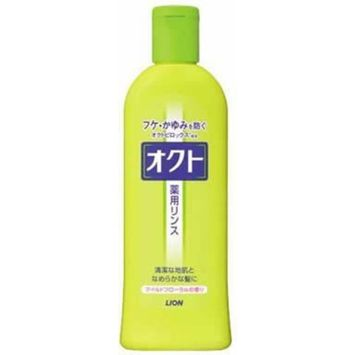 Lion PRO oct | Conditioner | Rinse 320ml for scurf, itch (Japan Import)