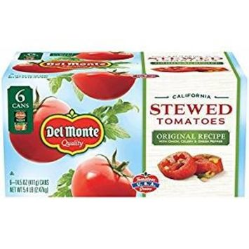 Del Monte California Original Recipe Stewed Tomatoes, 6 pk./14.5 oz.