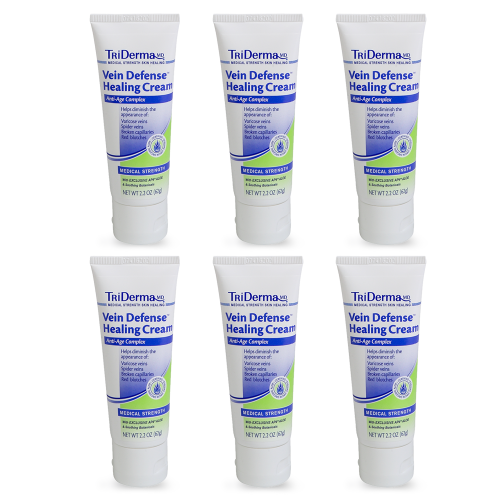Triderma Md TriDerma Vein Defense Cream 2.2 oz, Value 6-pack