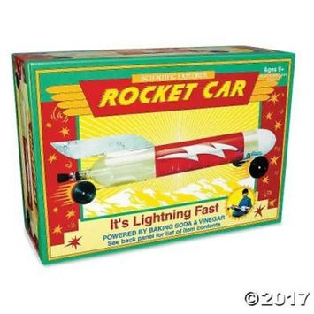 BAKING SODA & VINEGAR ROCKET CAR(48036)