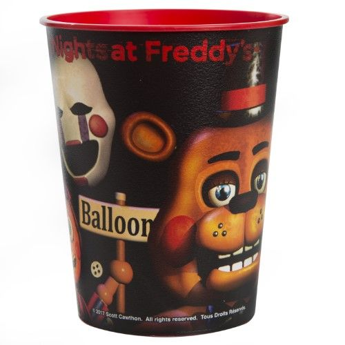 16-Ounce Five Nights at Freddy's Plastic Cup