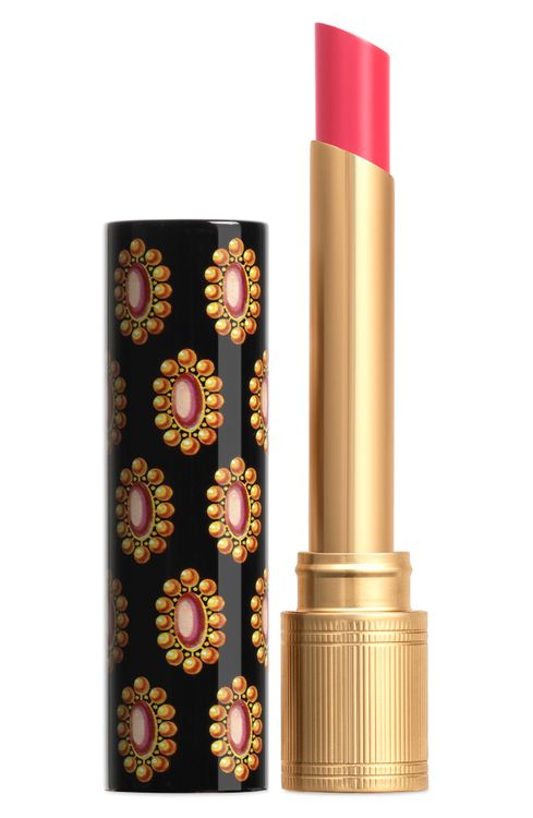 Gucci Rouge De Beaute Brillant Glow & Care Lipstick - 412 Princess Narah Rose