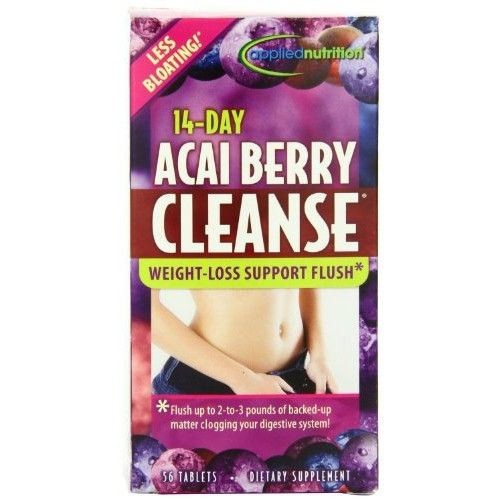 Applied Nutrition 14-day Acai Berry Cleanse 56-Count Bottle [name: number_of_pieces value: number_of_pieces-2]