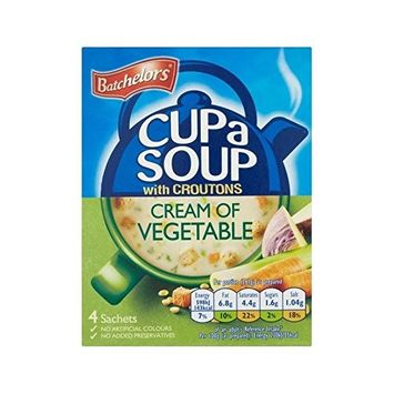 Batchelors Cup A Soup Cream of Vegetable 122g - Pack of 6